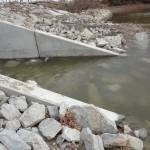 water flowing thru culvert 11-1-14 002